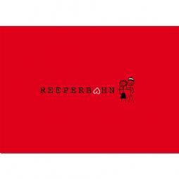Postkarte Reeperbahn rot
