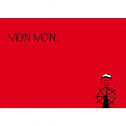 Postkarte Der Steuermann