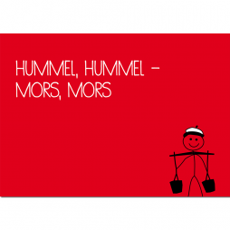 Postkarte Der Hamburger Wasserträger