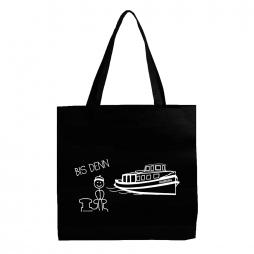 Stofftasche Bis denn schwarz