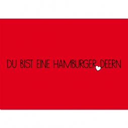 Postkarte Hamburger Deern