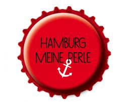 Kronkorken Magnet Hamburg meine Perle