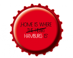 Kronkorken Magnet Home is
