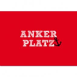 Postkarte Ankerplatz
