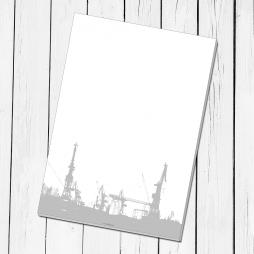 Notizblock Hafen Hamburg