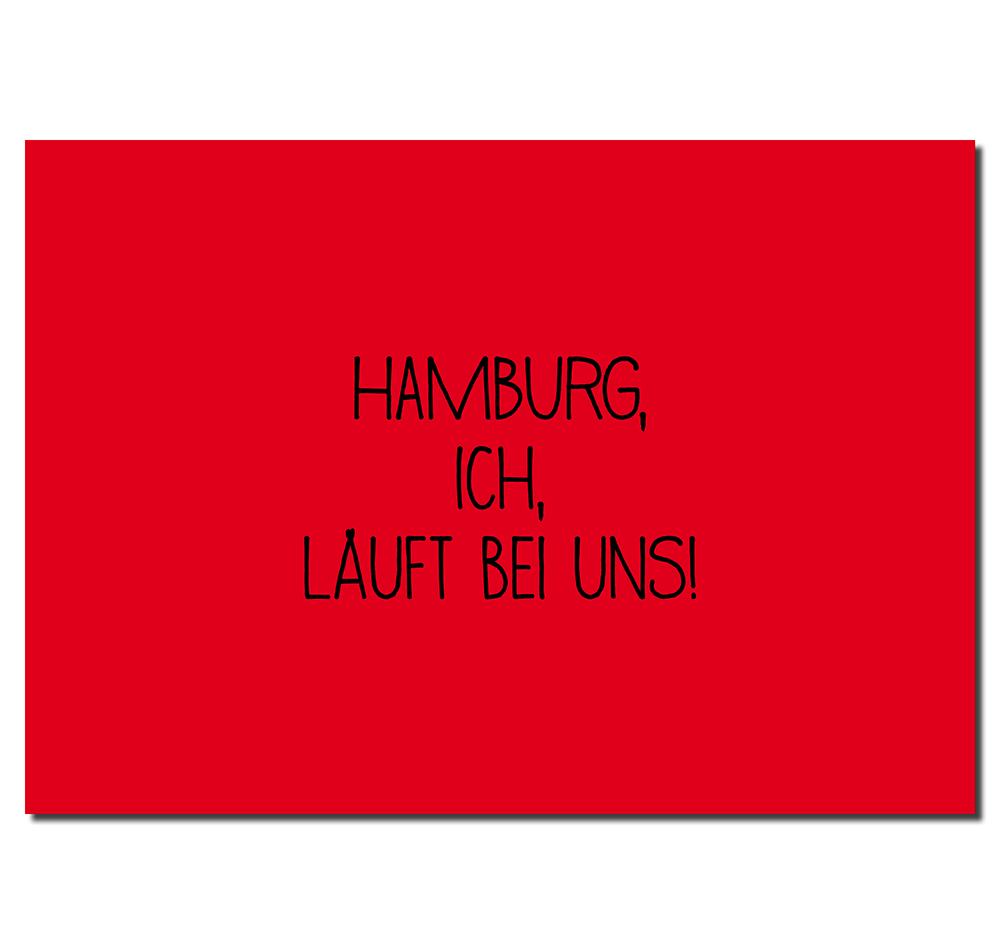 Postkarten Hamburg Läuft