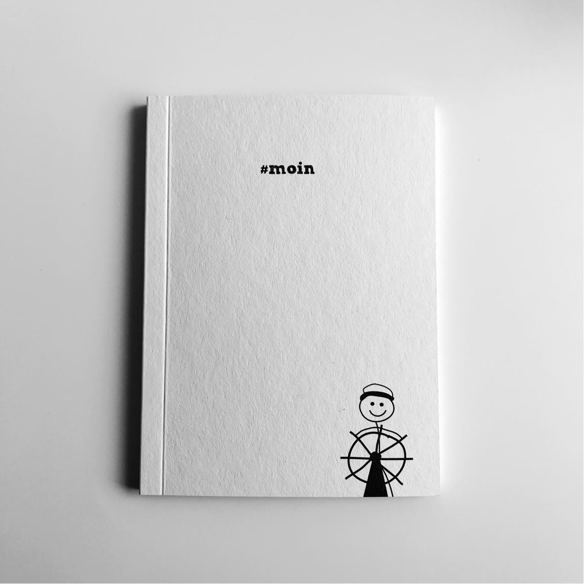 Notizbuch Moin