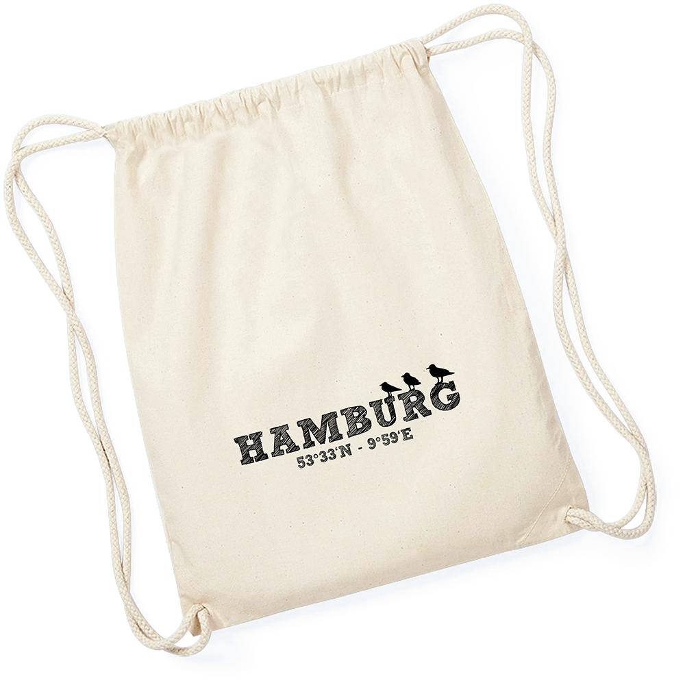 Sportbeutel Hamburg Koordinaten natur